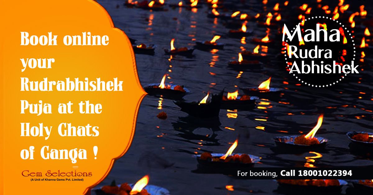 Book online your Rudrabhishek Puja at the Holy Ghat of Ganga