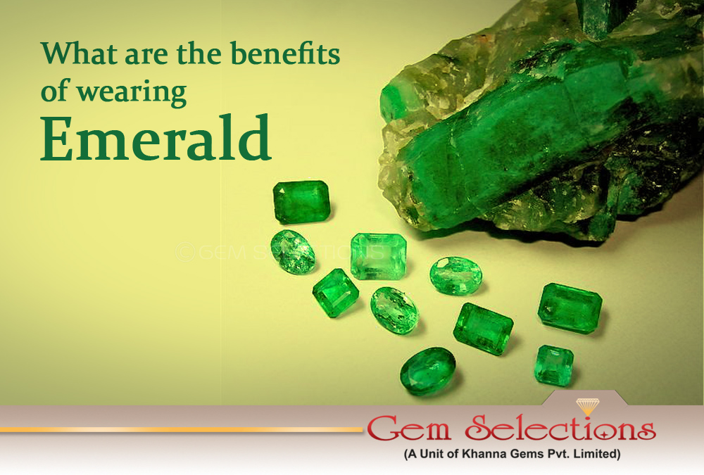 What are the benefits of wearing Emerald?