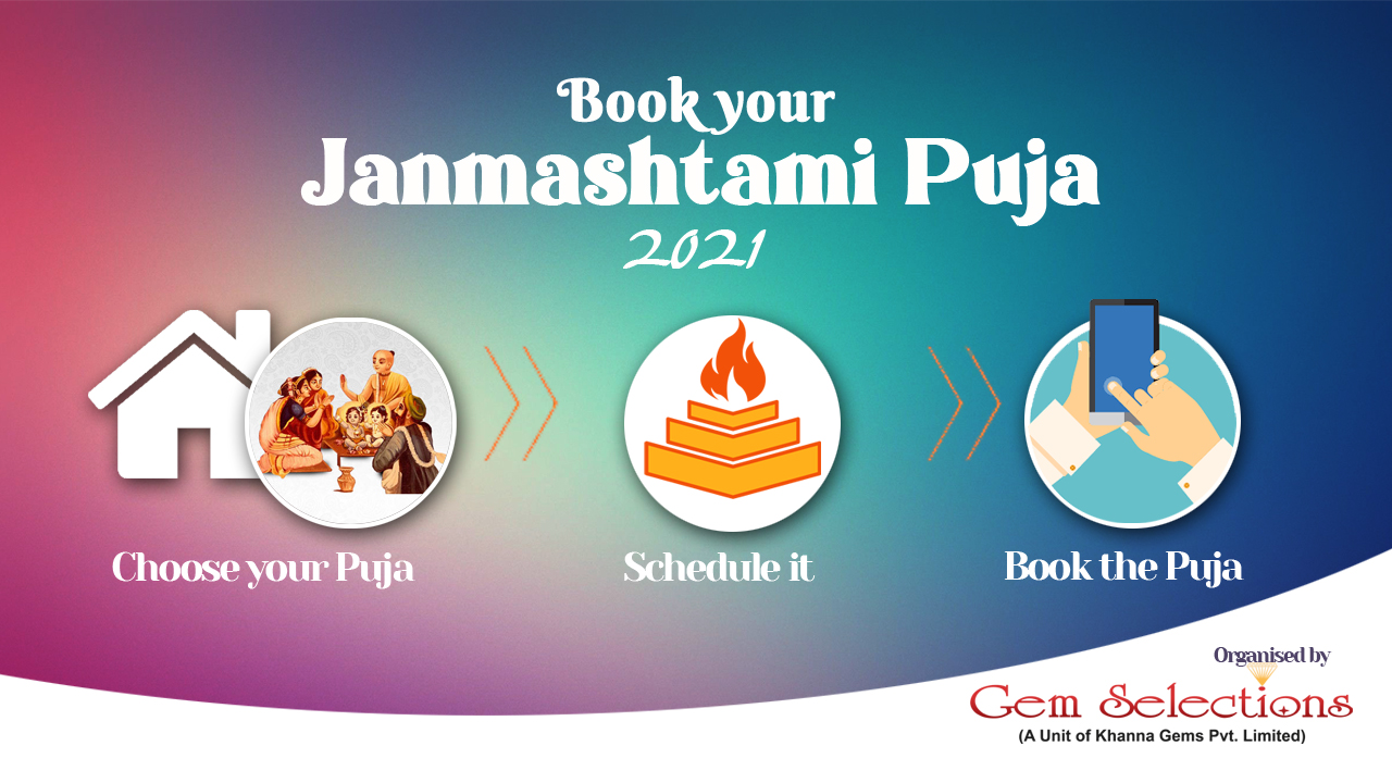 Book Your Janmashtami Puja 2021
