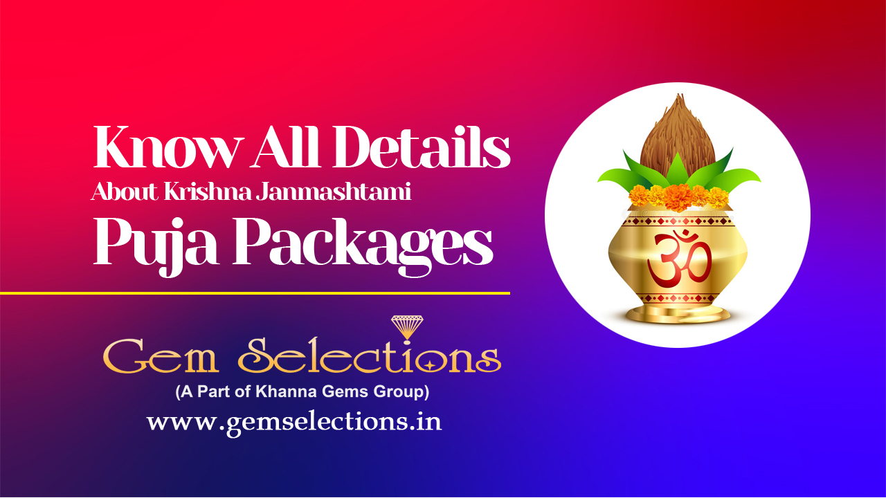 All the details about Krishna Janmashtami Puja Packages