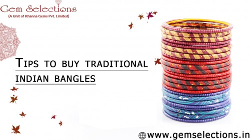 Tips to wear traditional Indian bangles