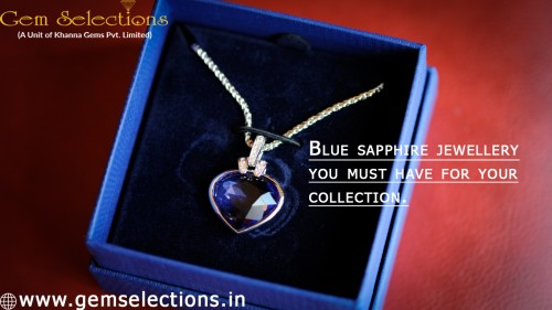 Blue sapphire jewelry you must-have for your collection