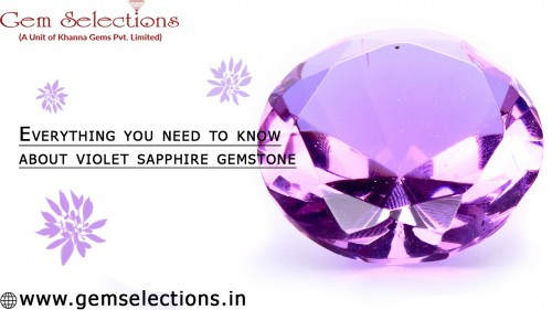 Everything you need to know about violet sapphire gemstone