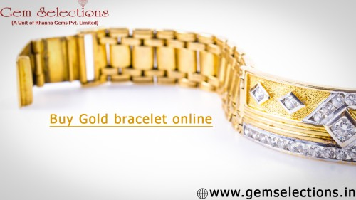Buy Gold bracelet online