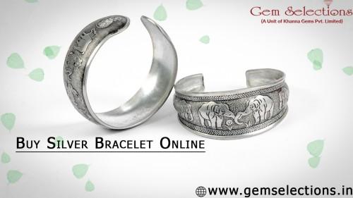 Buy Silver Bracelet Online