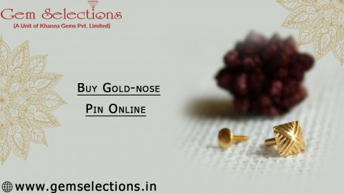 Buy Gold-nose Pin Online